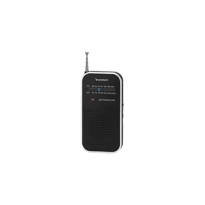 SUNSTECH RPS44 Plata Bolsillo - Radio Portátil