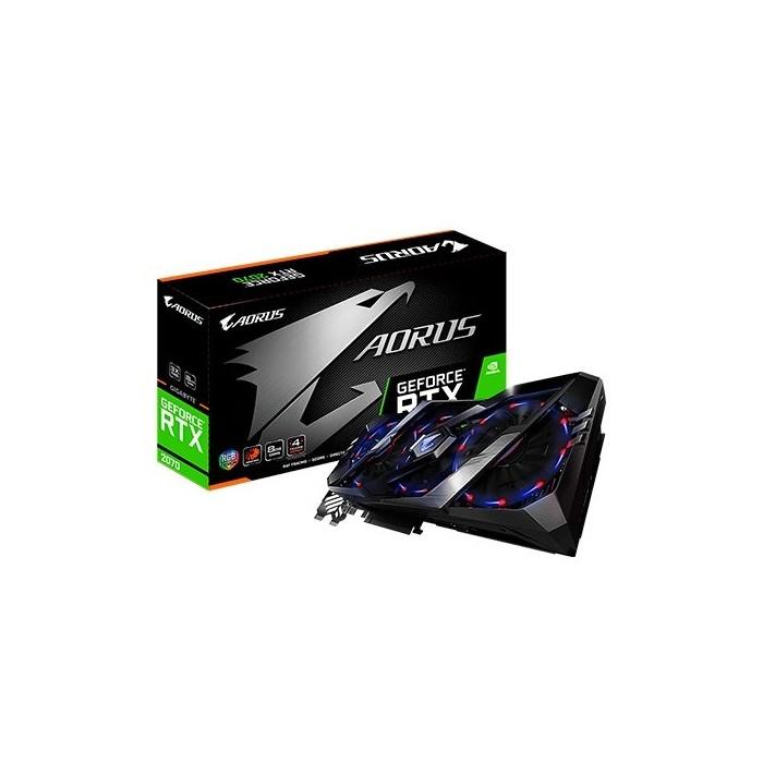 TARJETA GRÁFICA GIGABYTE RTX 2070 AORUS 8GB GDDR6