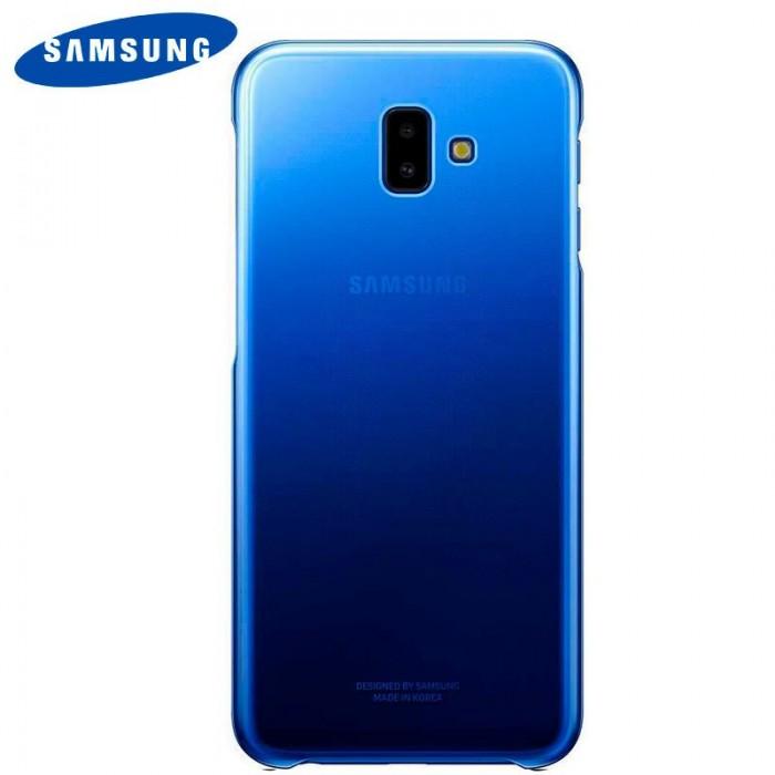 4e550ff34ff ... Funda Original Samsung J610 Galaxy J6 Plus Gradation Cover Trasera Blue  (Con Blister)