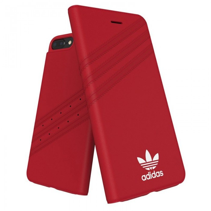 f5e5bd2d397 Funda Flip Cover iPhone 6 Plus / 6s Plus Licencia Adidas Rojo .