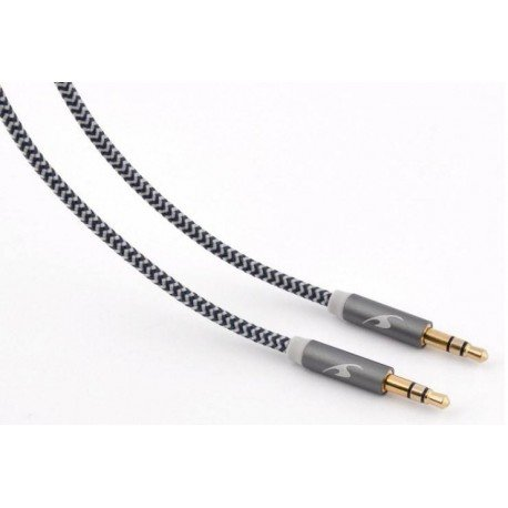 CABLE AUDIO JACK-3.5M A JACK-3.5M 1.2M BLUESTORK