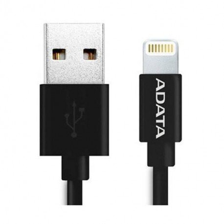 CABLE LIGHTNING A USB(A) ADATA NEGRO
