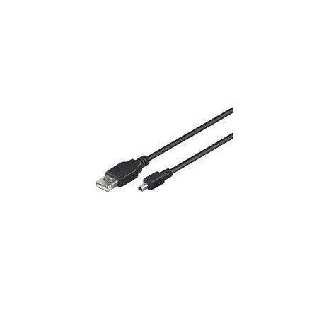 CABLE USB(A) 2.0 A MINI USB(B) 2.0 GOOBAY 1.8M