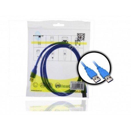 CABLE USB(A) 3.0 A USB(A) 3.0 KL-TECH 1.5M
