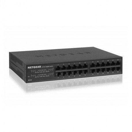 HUB SWITCH 24 PTOS NETGEAR 10/100/1000 GS324