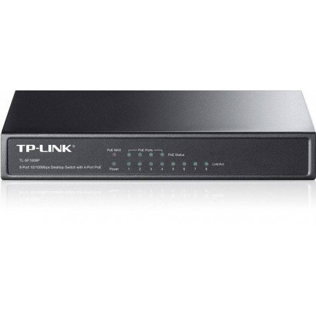 HUB SWITCH 8 PTOS 10/100 TP-LINK TL-SF1008P