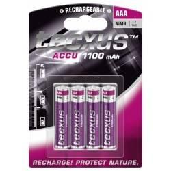 PILAS RECARGABLES TECXUS AAA 1100mAh (PACK 4)