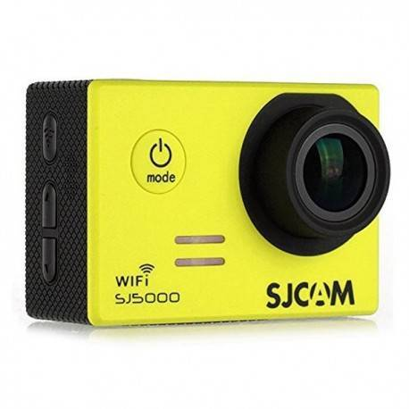CAMARA VIDEO SJCAM SJ5000 WIFI YELLOW V2.0