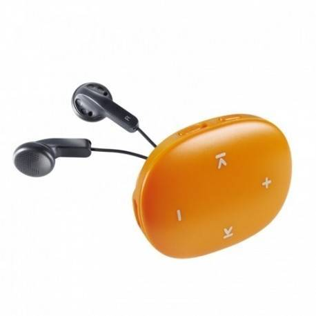 MP3 8GB INTENSO MUSIC DANCER NARANJA