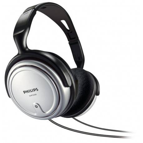 AURICULARES PHILIPS SHP2500/10 TV GRIS