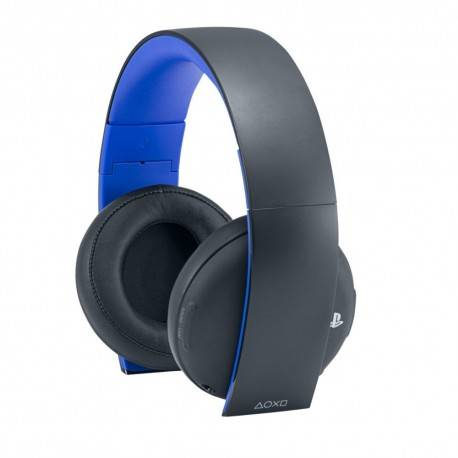 AURICULARESMICRO WIRELESS SONY PS4 NEGRO/AZUL