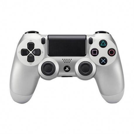 GAMEPAD ORIGINAL SONY PS4 DUALSHOCK PLATEADO V.2