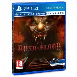 JUEGO VIDEOCONSOLA PS4 UNTIL DAWN RUSH OF BLOOD VR