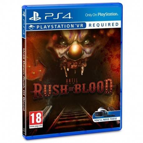 JUEGO SONY PS4 UNTIL DAWN RUSH OF BLOOD VR