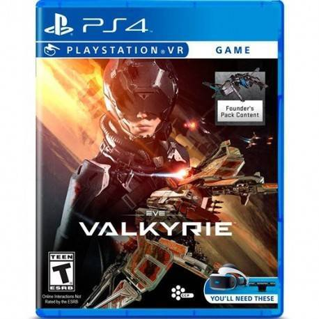 JUEGO SONY PS4 EVE VALKYRIE VR