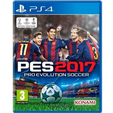 JUEGO SONY PS4 PRO EVOLUTION SOCCER 2017