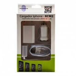 CARGADOR KL-TECH COCHE/MECHERO APPLE IPHONE 5/6/7