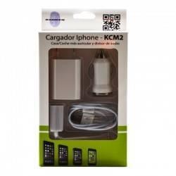 CARGADOR KL-TECH COCHE/MECHERO APPLE IPHONE 5/6/7