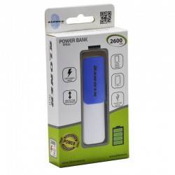 POWERBANK KL-TECH KPB27 2600 AZUL