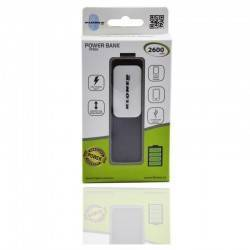 POWERBANK KL-TECH KPB28 2600 NEGRO
