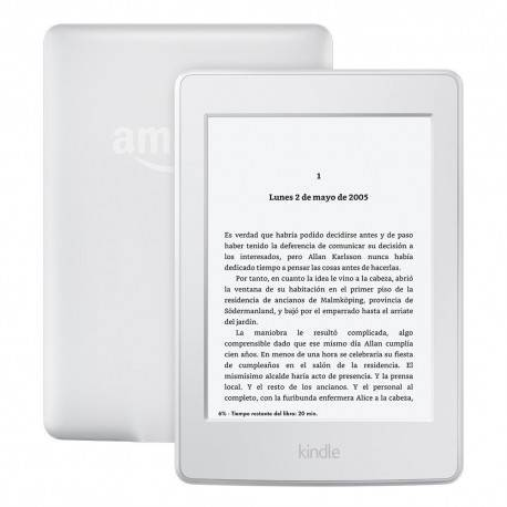 EBOOK KINDLE PAPERWHITE 6 LCD WIFI BLANCO