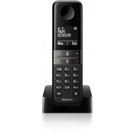 TELEF. INALAMBRICO DECT DIGITAL PHILIPS D4501B/23