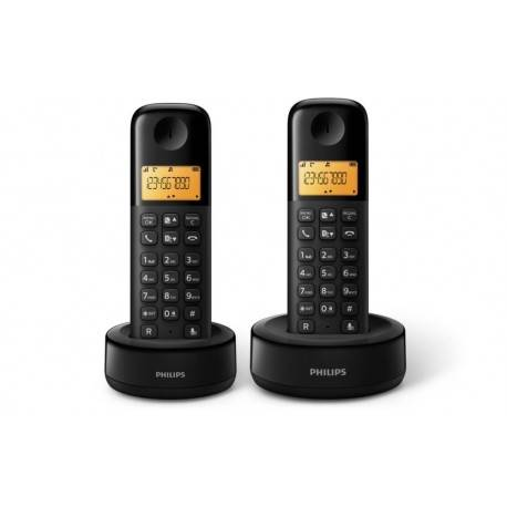 TELEF. INALAMBRICO DECT DIGITAL PHILIPS D1302B/23