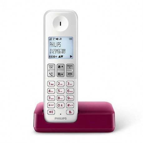 TELEF. INALAMBRICO DECT DIGITAL PHILIPS D2301WP/23