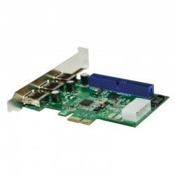 CONTROLADORA MINI-PCIE 3xUSB 3.0+SATA+IDE LOGILINK