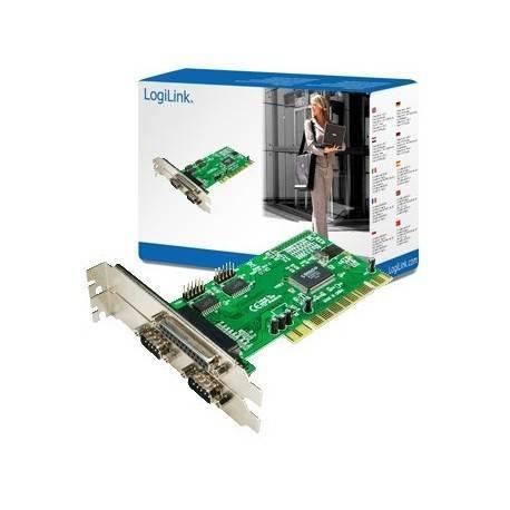 CONTROLADORA PCI 2XSERIE + 1XPARALELO LOGILINK