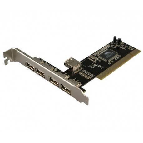 CONTROLADORA PCI 4+1XUSB2.0 LOGILINK PC0028