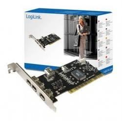 CONTROLADORA PCI 3+1XFIREWIRE LOGILINK PC0006A