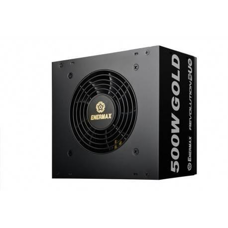 FUENTE ATX 500W ENERMAX REVOLUTION DUO ERD500AWL-F