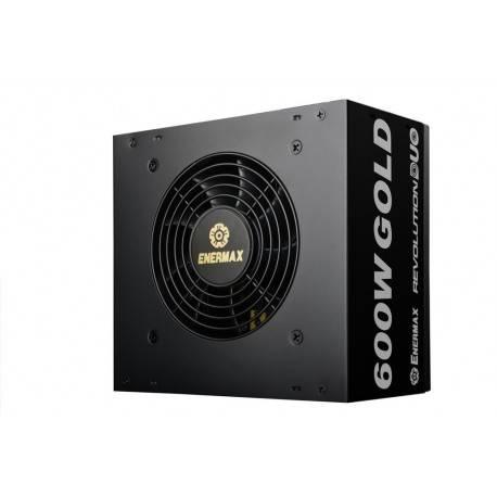 FUENTE ATX 600W ENERMAX REVOLUTION DUO ERD600AWL-F