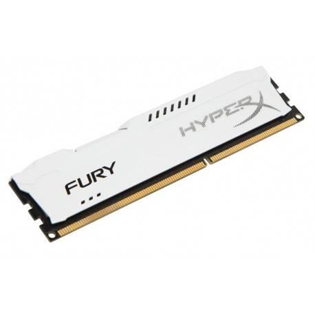 MODULO DDR3 8GB PC1600 KINGSTON HYPERX FURY WHITE