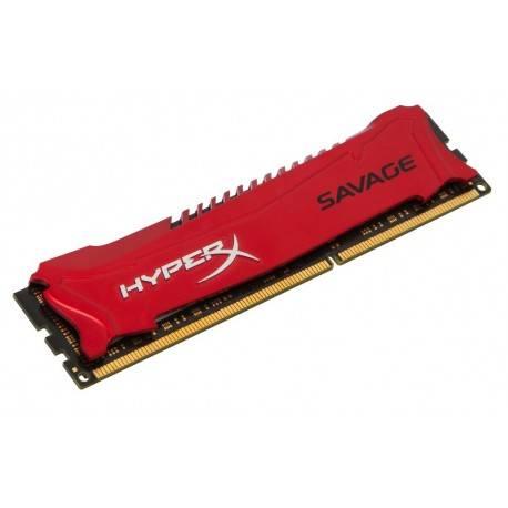 MODULO DDR3 8GB PC1600 KINGSTON HYPERX SAVAGE RED