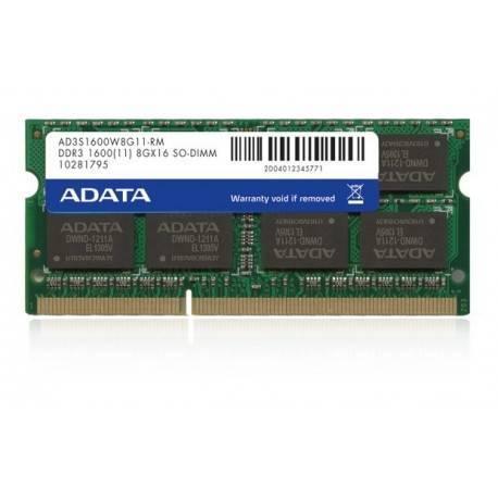 MODULO S/O DDR3 4GB PC1600 ADATA APPLE SERIES