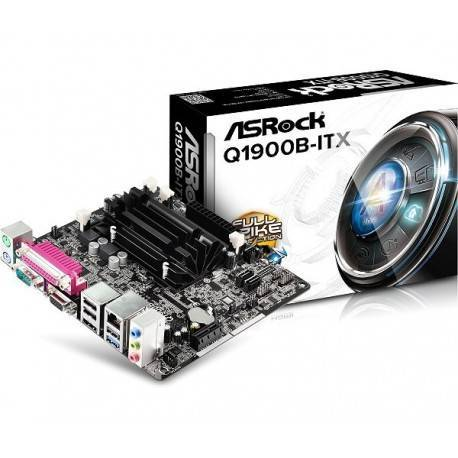 PB ASROCK Q1900B-ITX CPU INTEL QUAD CORE