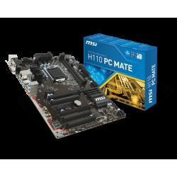 PB MSI 1151 H110 PC MATE