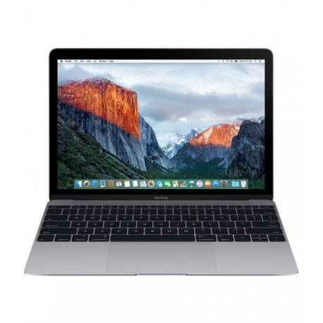 PORTATIL APPLE MACBOOK 12 EARLY 2016 SPACE GREY