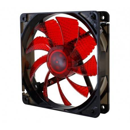 VENT 120X120 NOX COOLFAN 120 LED ROJO