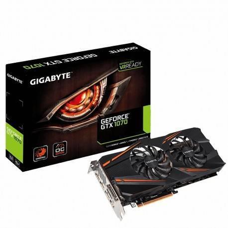 VGA GIGABYTE GTX 1070 WINDFORCE 8GB GDDR5