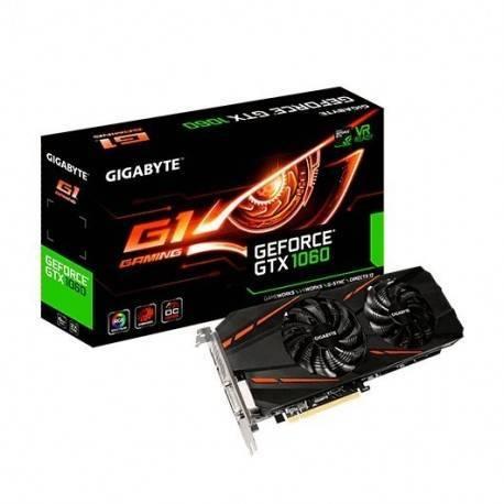 VGA GIGABYTE GTX 1060 G1 GAMING 6GB GDDR5 REV 2.0