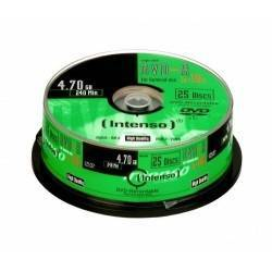CONSUMIBLE INTENSO DVD-R 4.7GB 25PCS 16X TARRINA