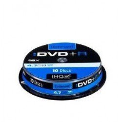 CONSUMIBLE INTENSO DVD+R 4.7GB 10PCS 16X CAJA SLIM