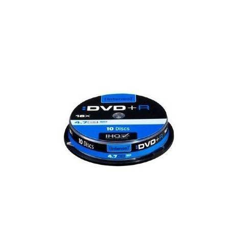 CONSUMIBLE INTENSO DVD+R 4.7GB 10PCS 16X CAJA SLIM