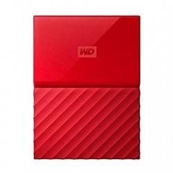 HD EXT USB3.0 2.5 1TB WD MY PASSPORT ROJO