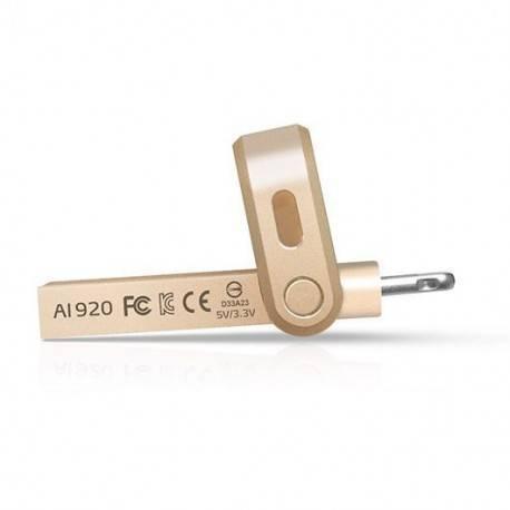 PENDRIVE 64GB ADATA I-MEMORY AI920 GOLD