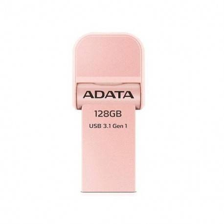 PENDRIVE 128GB ADATA I-MEMORY AI920 ROSE GOLD