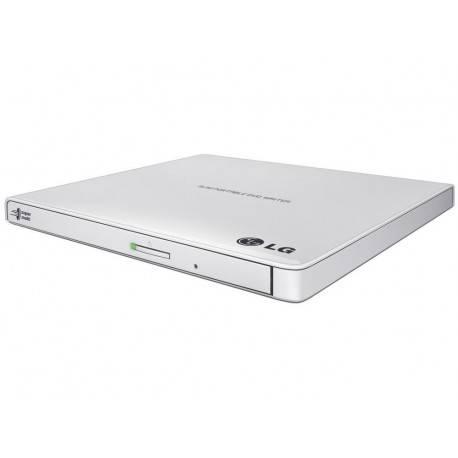 REGRABADORA USB DVDRW LG EXTERNA SLIM BLANCO